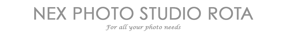 NEX Photo Studio Rota logo